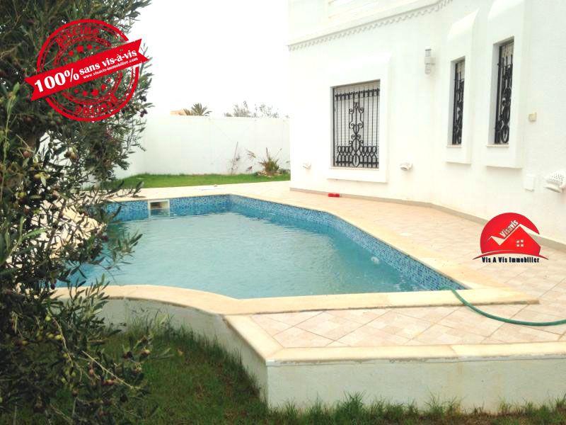 achat maison djerbavis a vis immobilier - vente maison villa djerba