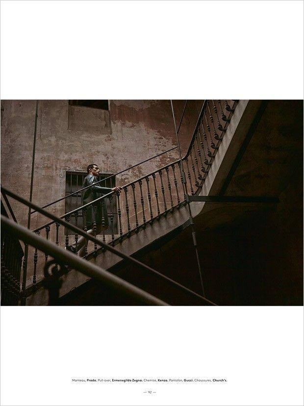 Richard Deiss for L'Officiel Homme Suisse by Fabrizio Scarpa