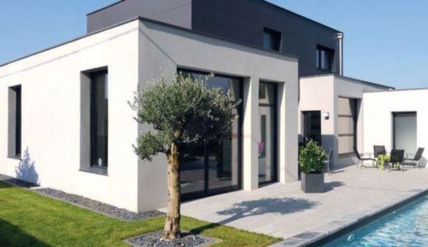Une maison moderne, pratique et écologique avec piscine Pinterest
