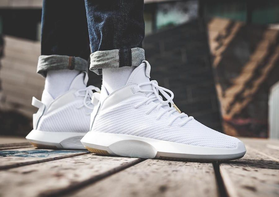 half off 5762b 5cd59 Adidas Crazy 1 ADV CG4819 Release Date September 3, 2017 Price 130  Style Code CG4819 Color Ftwr White  Core Black  Gold Met