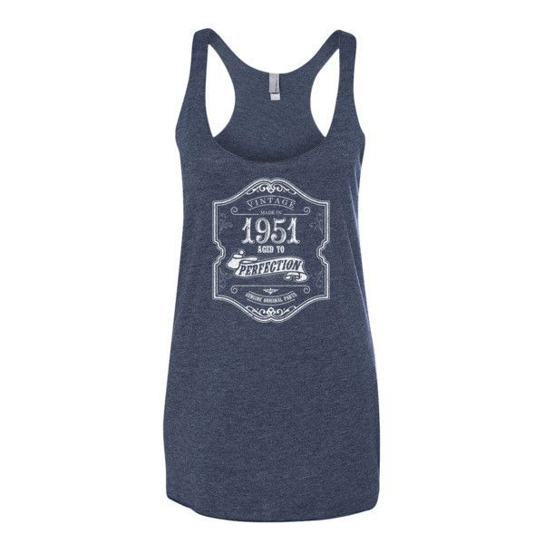 Made in 1951 Aged to perfection Women's tank top