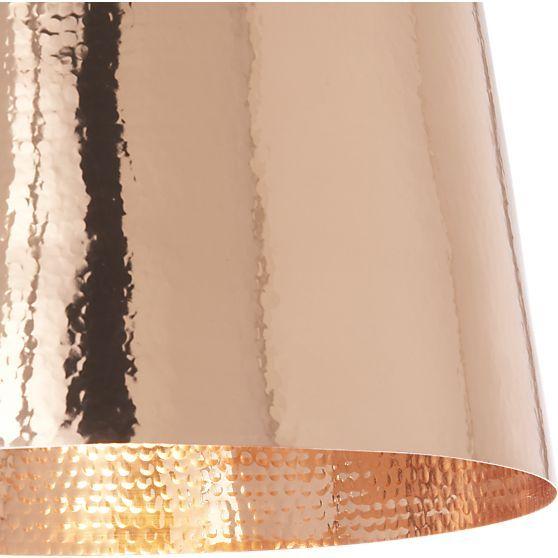 Dumont Pendant Lamp in Chandeliers Pendants Crate and Barrel
