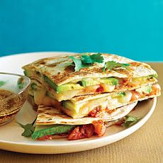Kimchi and Avocado Quesadillas Recipe