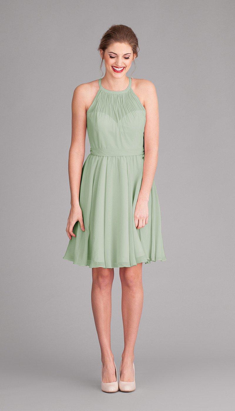 Sienna chiffon bridesmaid dress bridesmaid dresses pinterest