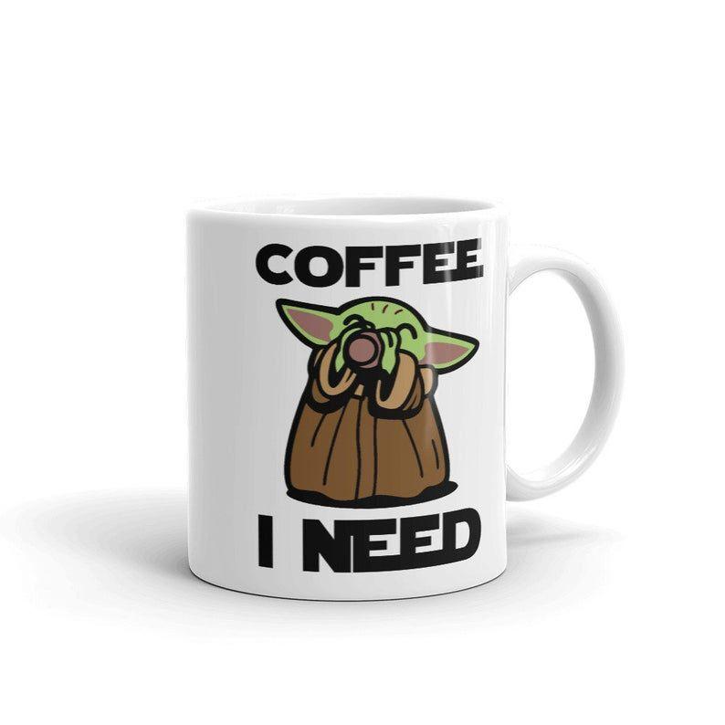 Mom White Ceramic 11oz Pop Baby Yoda Mug Valentines Day Gift Cute The Child Mandalorian Coffee Cup