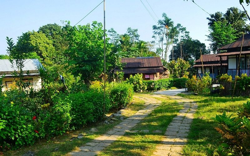 Mawlynnong #Village, #Meghalaya (#India) - The #Cleanest #Village in #Asia  (God's Own #Garden) | Cool places to visit, Meghalaya, Tourist