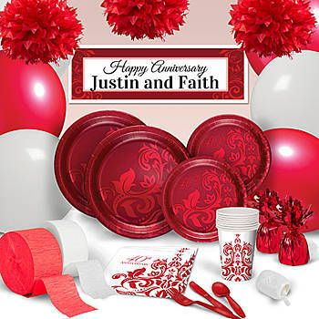 40th Wedding Anniversary Favors Party Supplies Decorations Sweetlovegifts