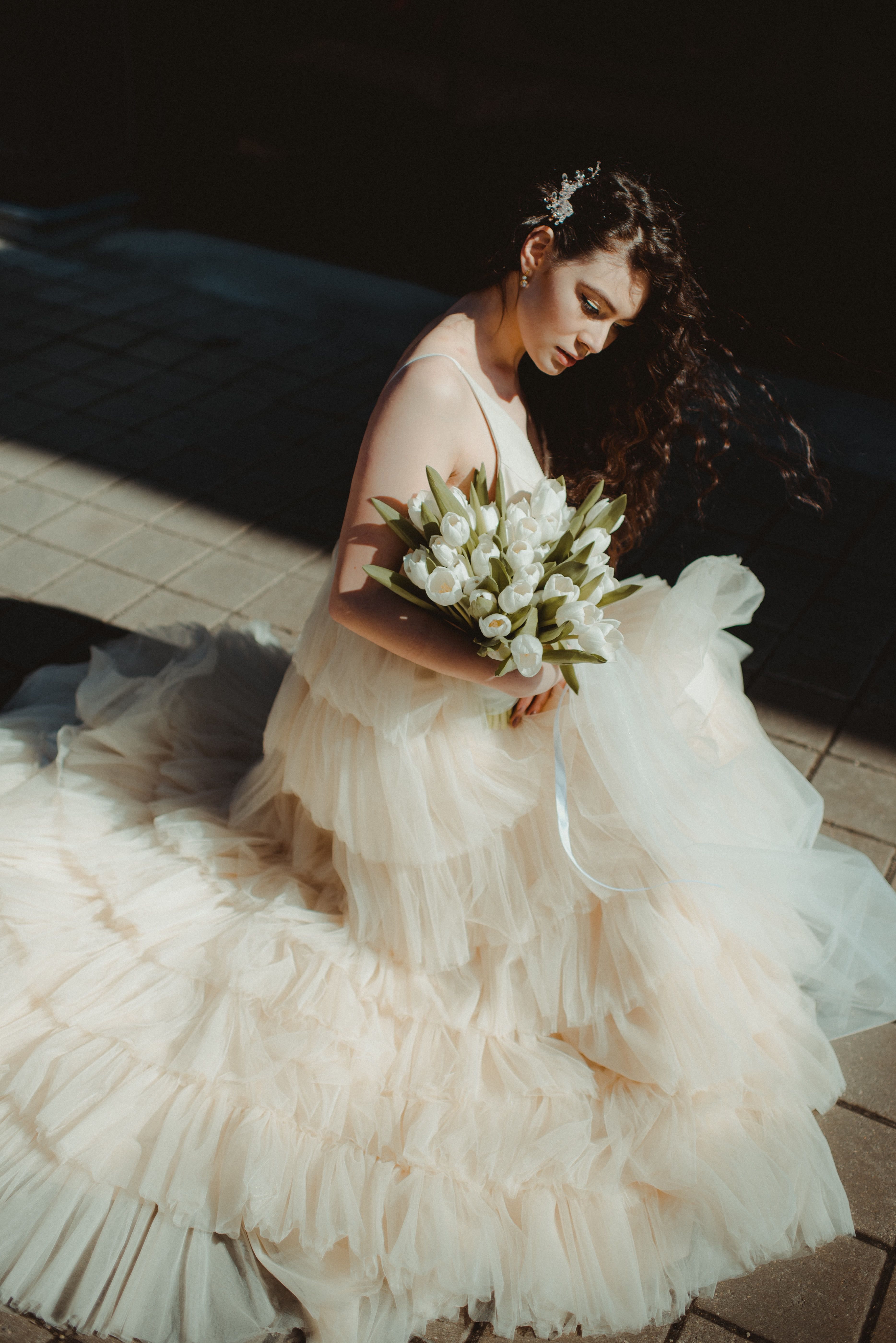 Pin On Tulle Wedding Dresses By Amelii