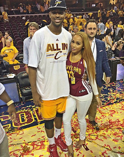 Tristan Thompson Ex-Girlfriend Model Jordan Craig ...