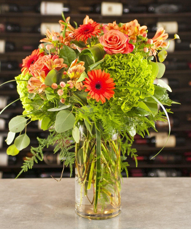 Mandarin Fields In 2020 Birthday Flowers Gerbera Daisy Orange Roses