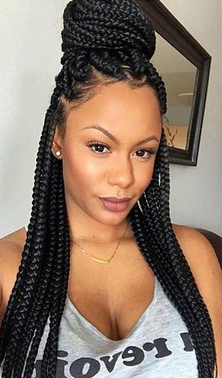 Pin By Ministerteisha Goods On Screenshots Box Braids Styling Natural Hair Styles Box Braids Hairstyles