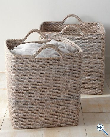 Pretty Laundry Baskets And Super Expensive Unfortunately