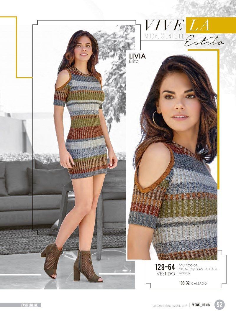 1f55e4938 Catalogo Cklass Ropa Fashionline Otoño Invierno 17 | Cklass ...