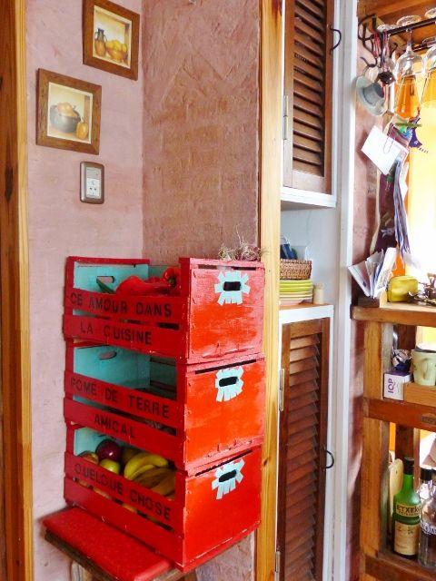 Con mi valija al hombro reciclado para darle - Muebles para frutas ...