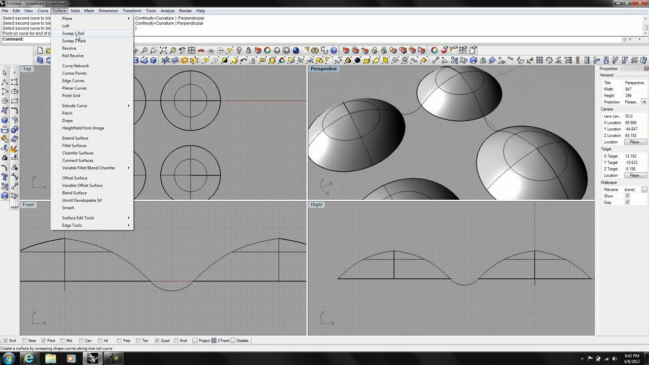 Rhino tutorial modeling a 3d textured surface bubble surface rhino tutorial modeling a 3d textured surface bubble surface baditri Choice Image