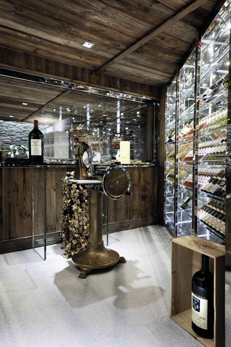 Chalet Alpes Brickell De Pure Concept Cave A Vin Chalet