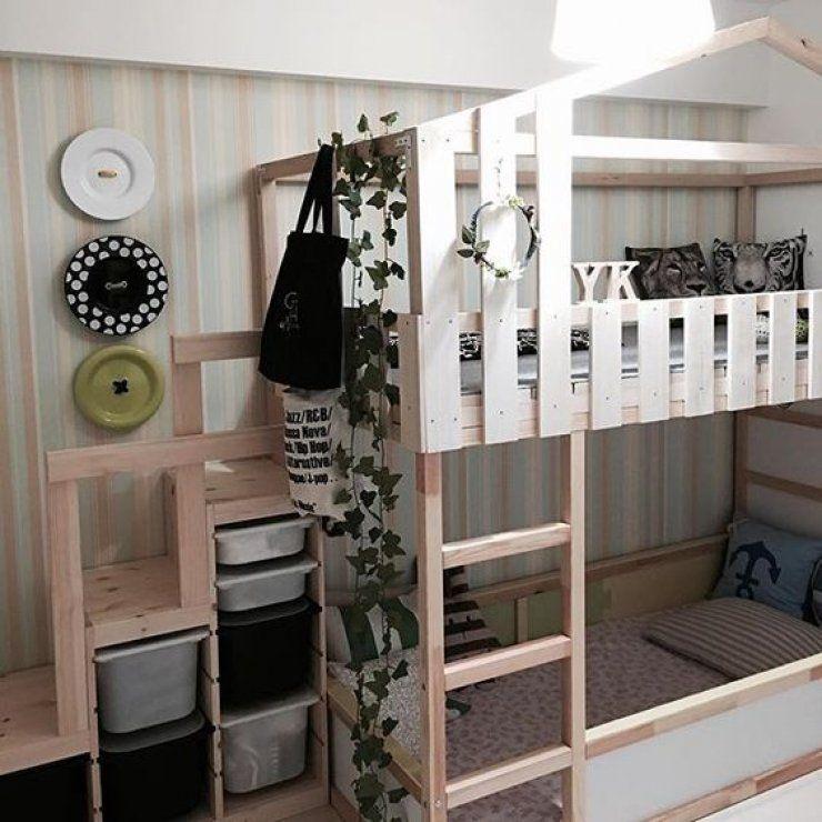 mommo design 10 IKEA KURA HACKS Trofast kinderzimmer