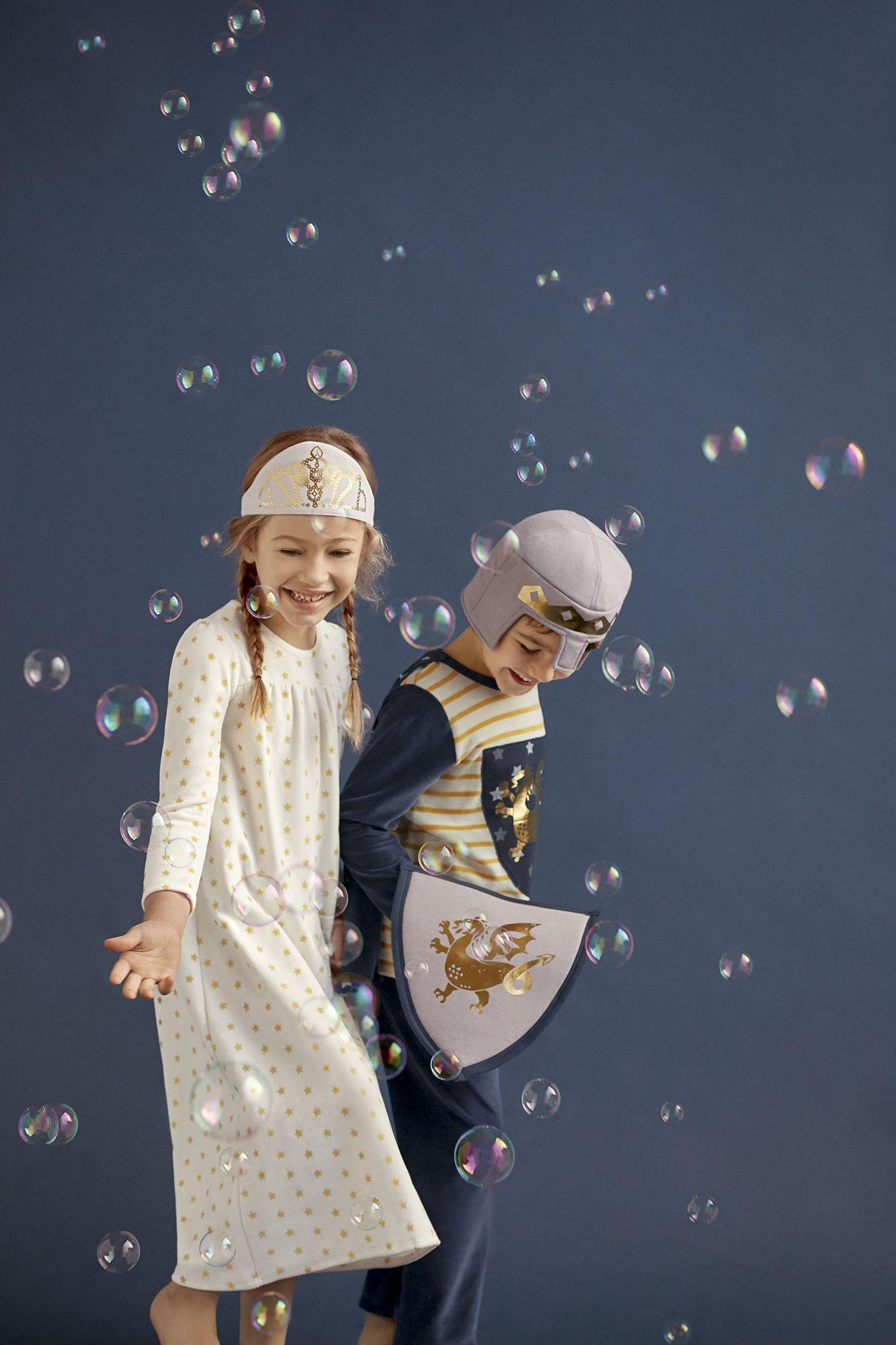 christmas #pyjama #chevaliers #princesses #petitbateau