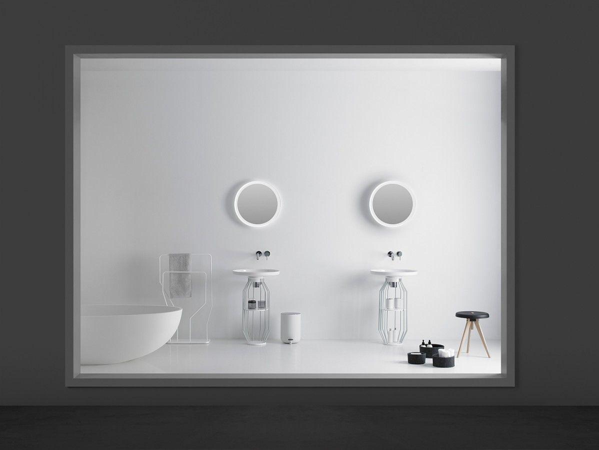 mobiliario blanco de diseño para el cuarto de baño - Bowl ...