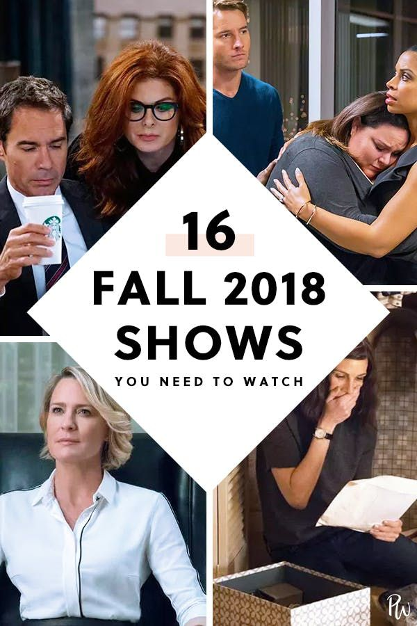 16 Fall 2018 TV Shows You Need to DVR, Stream or Binge #purewow #entertainment #news #tv
