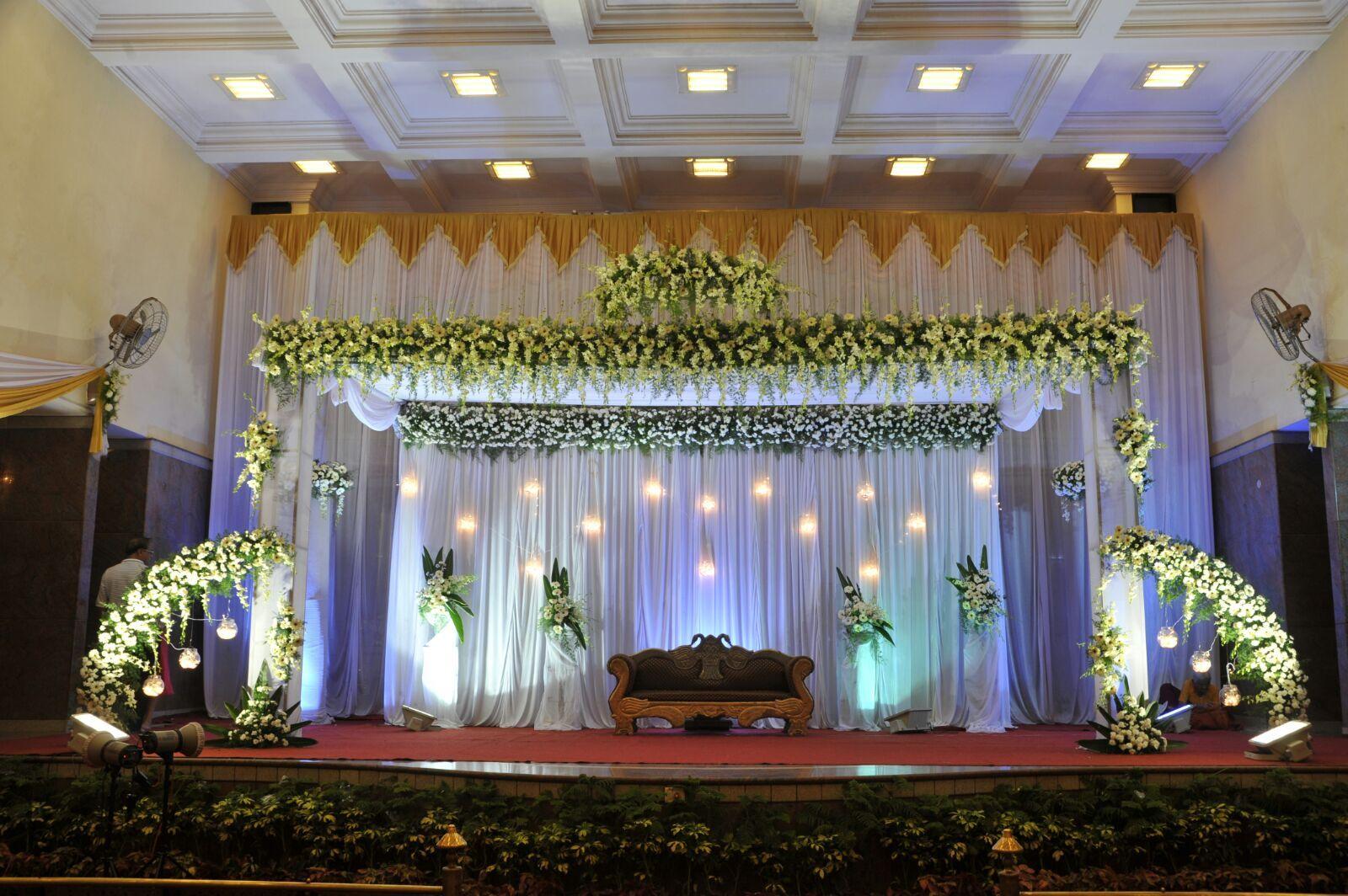 Amulya Reception Wedding Stage Decorations Wedding Hall