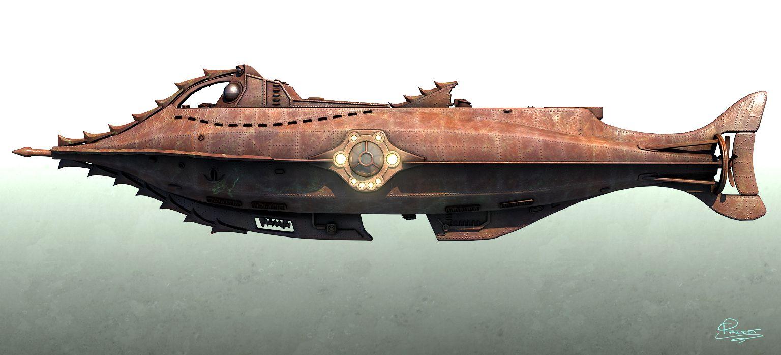 Картинки подводной лодки наутилус