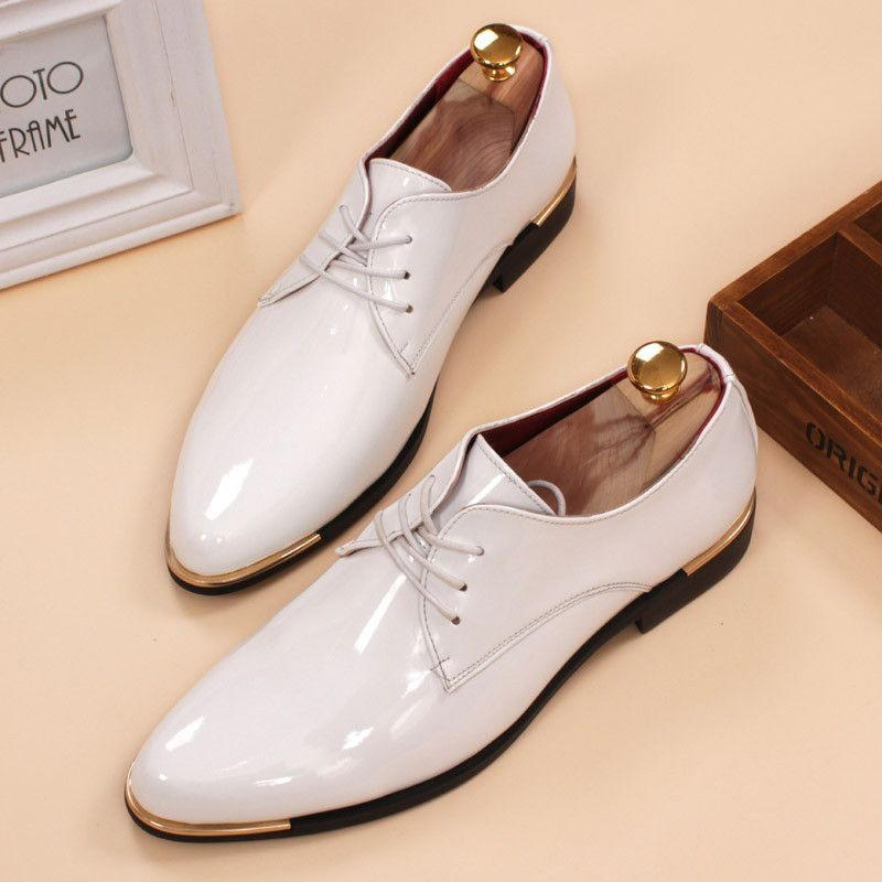 LEONARDO SHOES Luxury Fashion Mens LACE-UP Shoes Spring