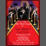 red carpet hollywood sweet 16 birthday invite party time