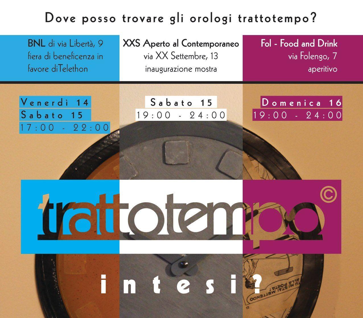 14-15-16 dicembre 2012 // Yes, week-end! #orologio #trattotempo #fabriziopollaci #design #tempo