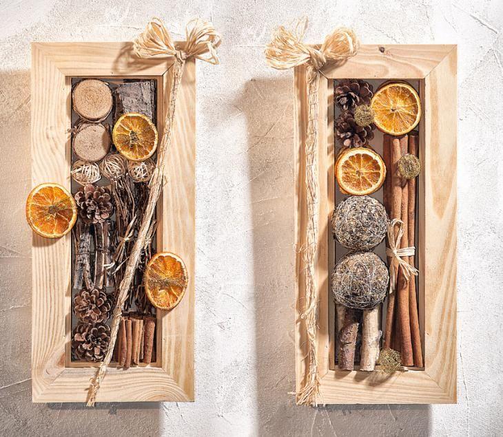 """DIY: Bilderrahmen """"Natur""""  Anleitung: http://www.vbs-hobby.com/de/themenset/bilderrahmen-natur-756.html"""