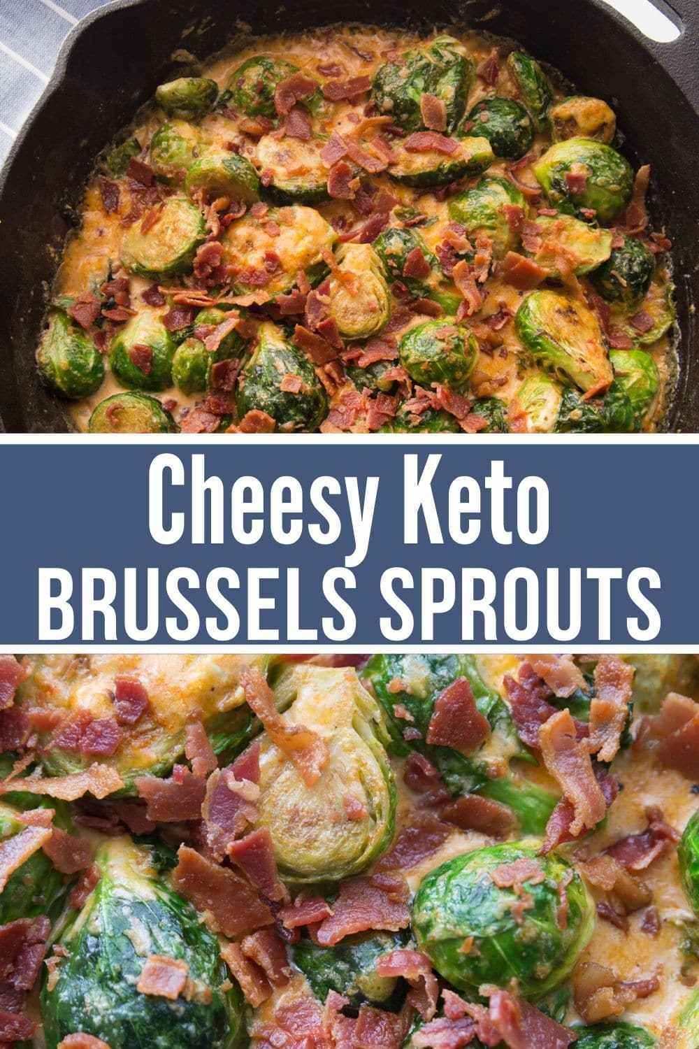 Cheesy Keto Brussels Sprouts Bacon Recipe In 2020 Brussel Sprouts Bacon Brussel Sprouts Sprouts With Bacon