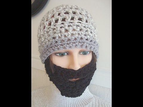 EASIEST CROCHET BEARD | Crochet | Pinterest | Stricken häkeln ...