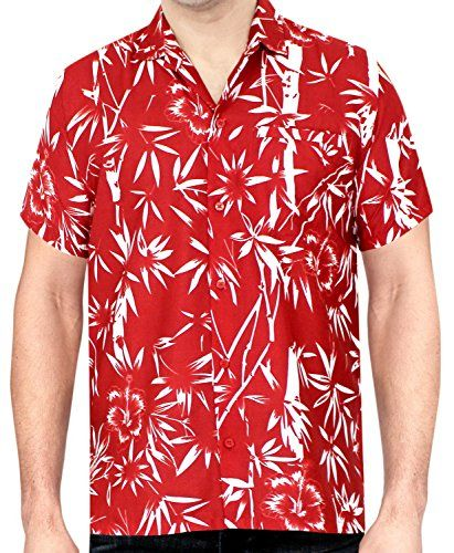 4d8c3a80 Shirt Sleeves · LA LEELA Aloha Hawaiian Tropical Beach Solid plain Mens  C... https:/