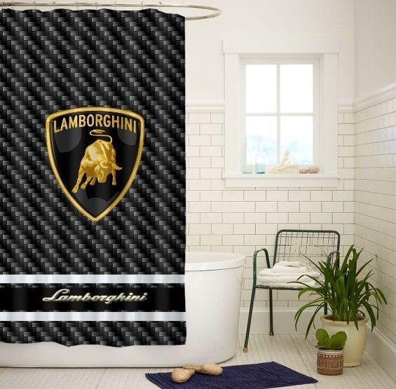 New Jagermeister Liqueur Logo Custom Shower Curtain Size 48x72 60x72 66x72 Inch