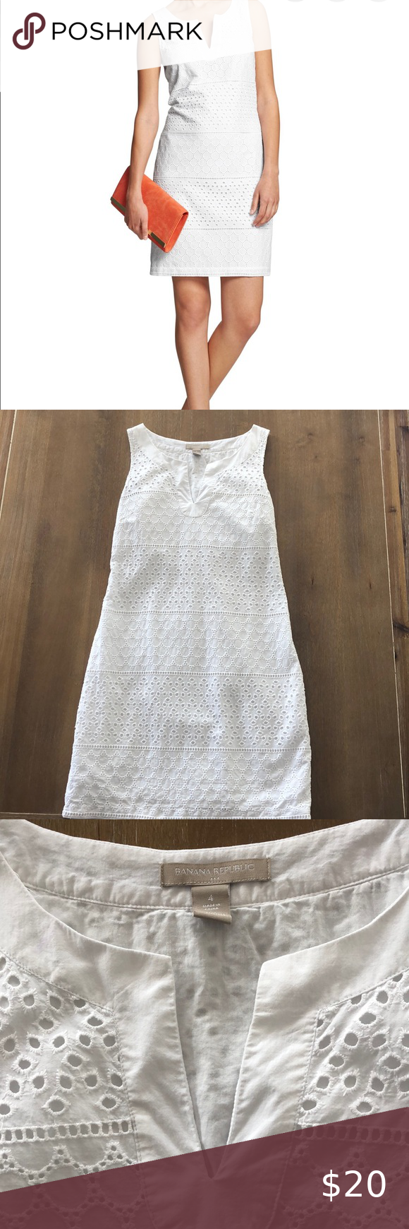 Banana Republic Eyelet Shift Dress Shift Dress Piece Dress White Eyelet Dress [ 1740 x 580 Pixel ]