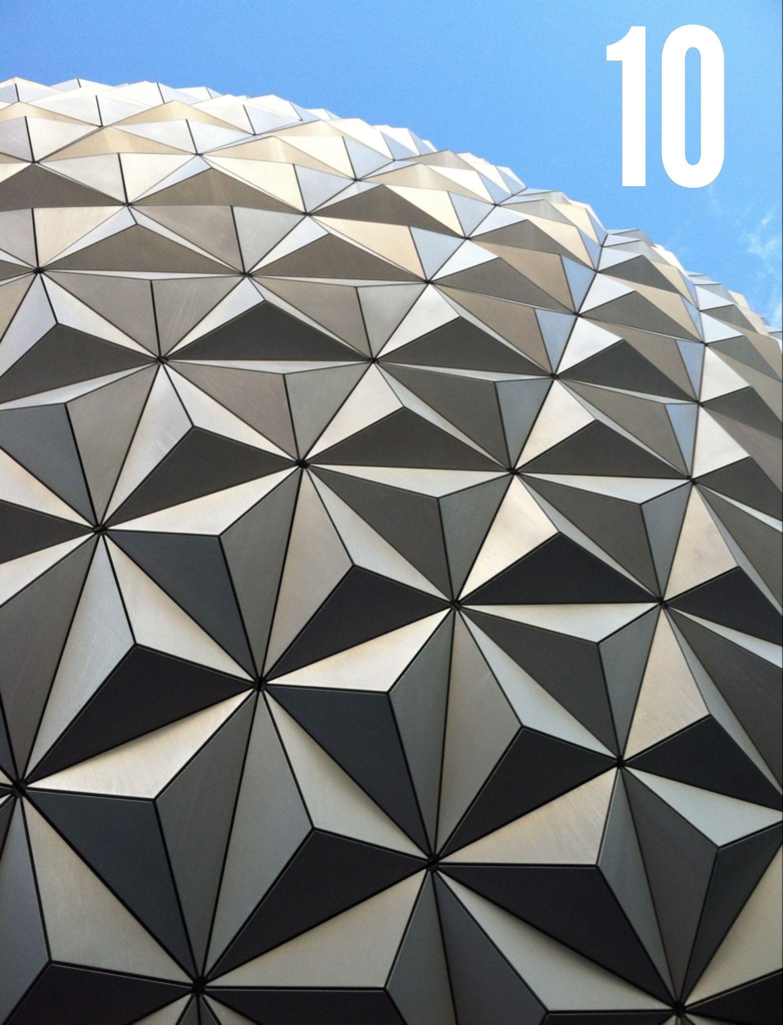 10 Days Until Disney World / Epcot / Spaceship Earth / Disney Vacation Countdown