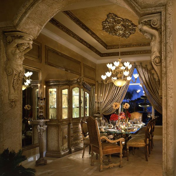 Beautiful Archway Designs For Elegant Interiors: Love The Arches! Such A Beautiful Dinning