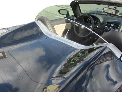 Saturn Sky Wind restrictor Wind blocker Wind screen Unique Solstice Kappa