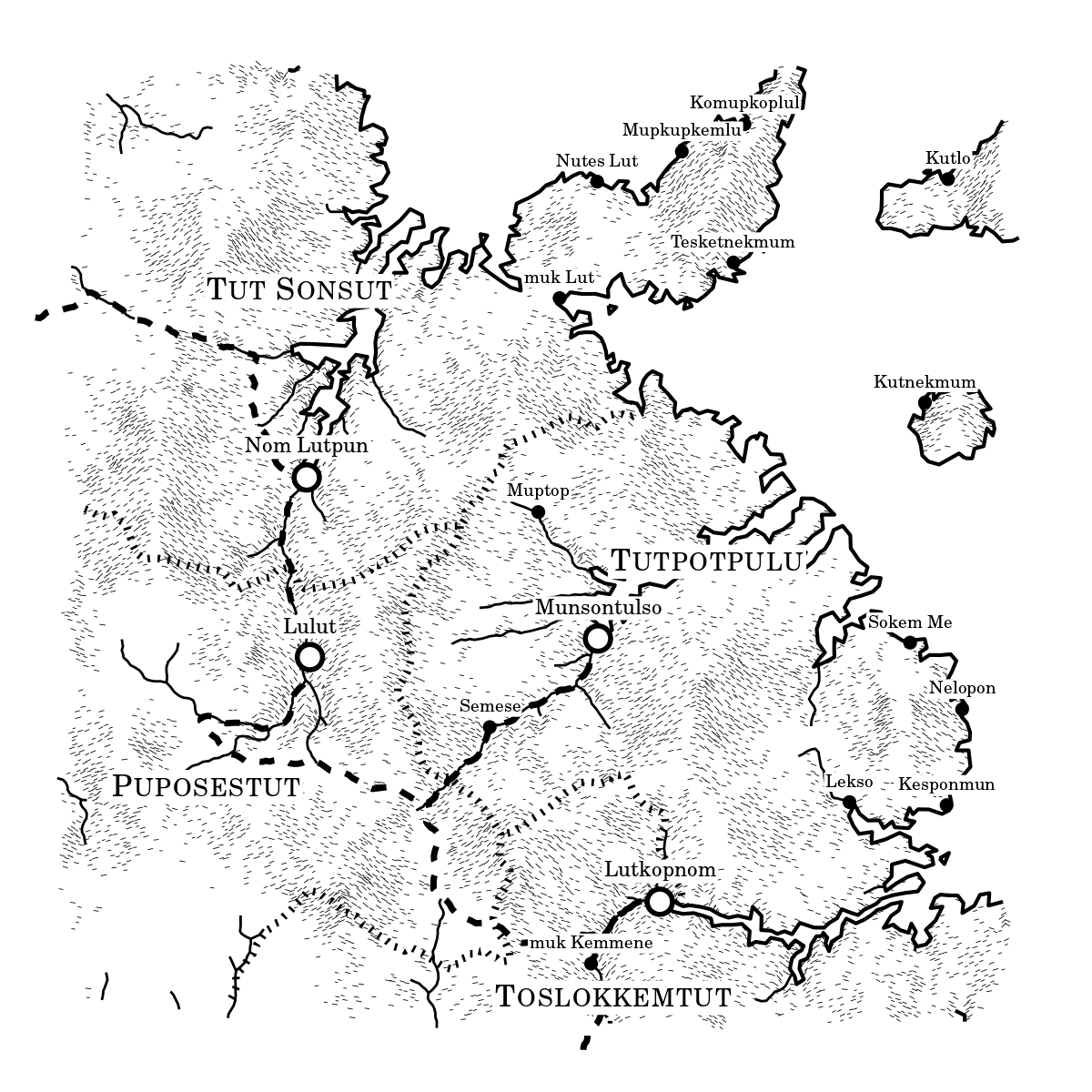 Bot Creates Beautiful Maps of Fantasy Novel Worlds and Then Tweets ...