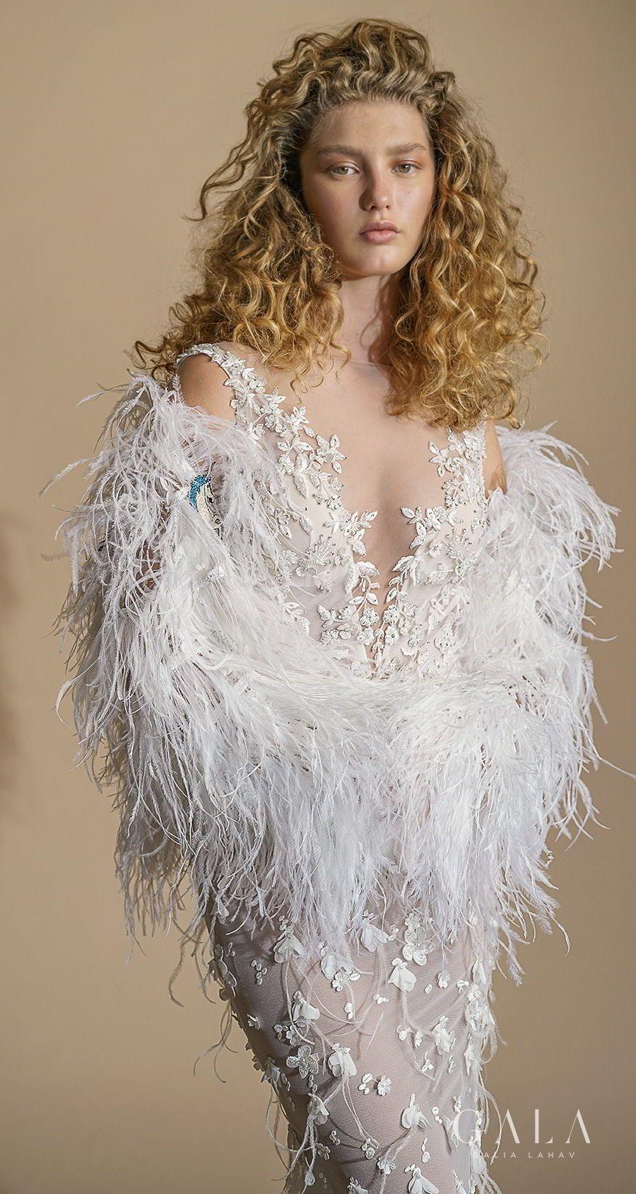 Lace v neck maxi dress april 2019 GALA by Galia Lahav Collection No VI u These Wedding Dresses are