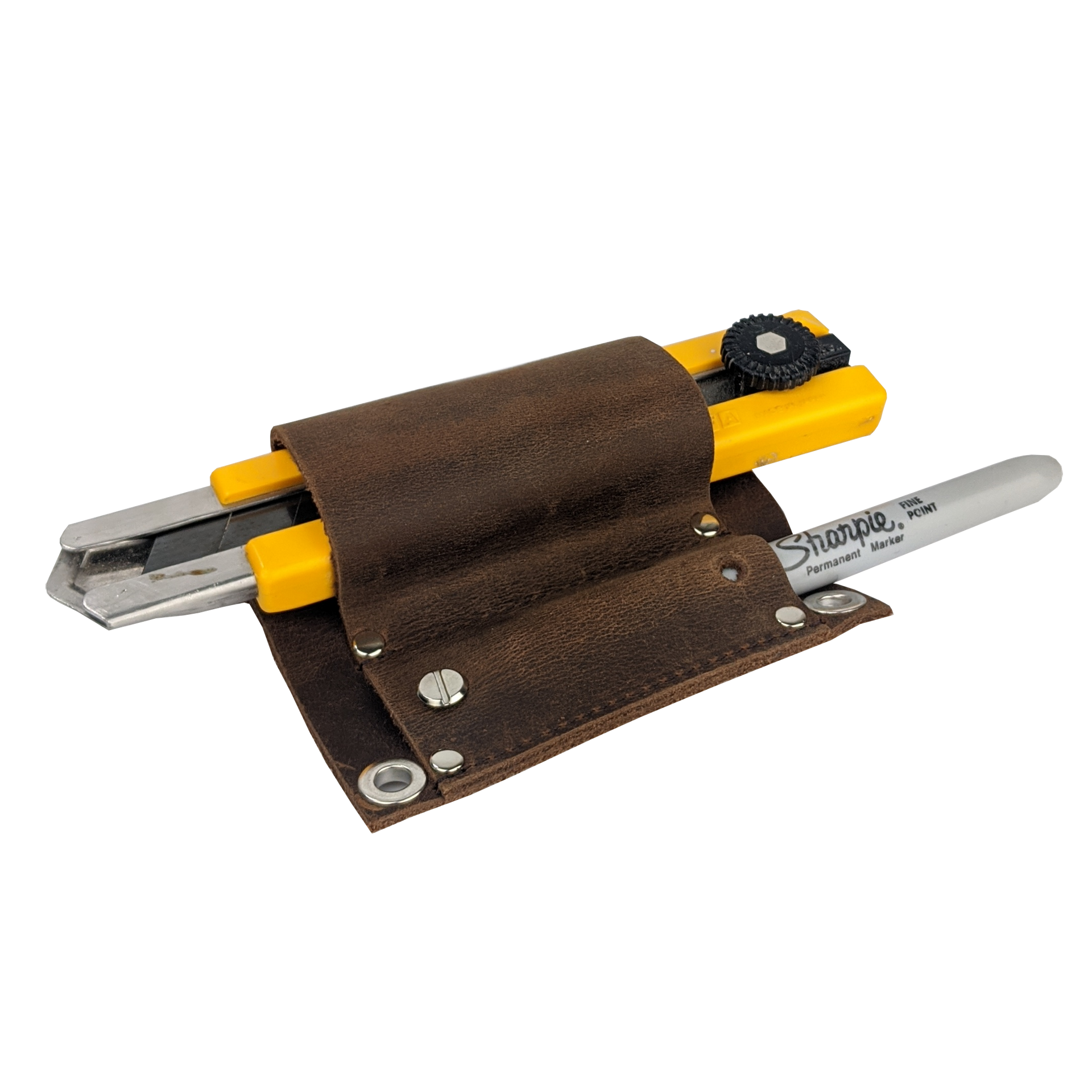 Knife Holster for Trim Carpenter's Pouch