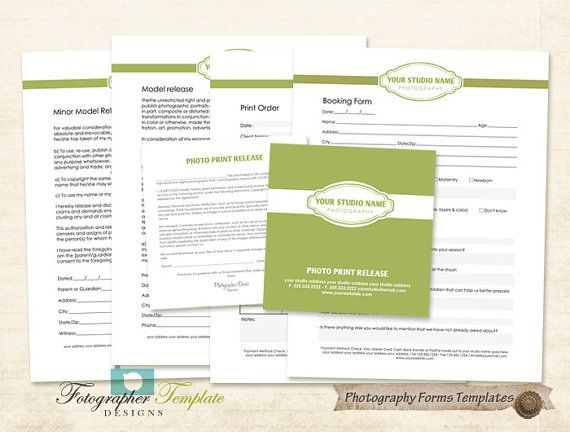 Photography Release Forms Templates Photo print by - release forms
