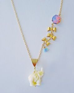 Breeze On By Elephant and Balloon Necklace