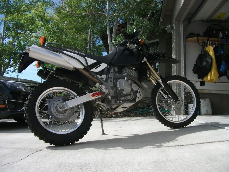 seat raised dr650 adv pinterest offroad