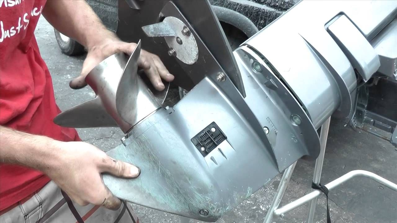 yamaha 25hp outboard motor water pump replacement [ 1280 x 720 Pixel ]