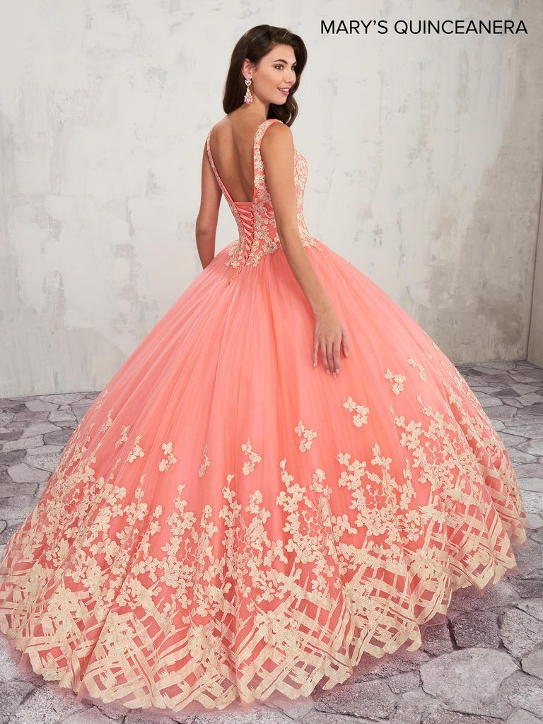 MQ2018 Marys Quinceanera | Quinceanera collection, Ball gown prom ...