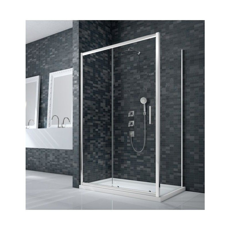 Merlyn Ionic Essence Framed 1100mm Sliding Shower Door Sliding Shower Door Shower Doors Framed Shower Door