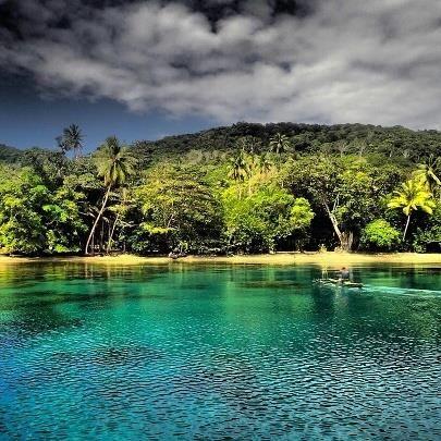 Nuakata Island. A Hidden Paradise #milnebay #papuanewguinea #tourismpng #boatlife #adventure Photo via | Dragon Fly Imaging