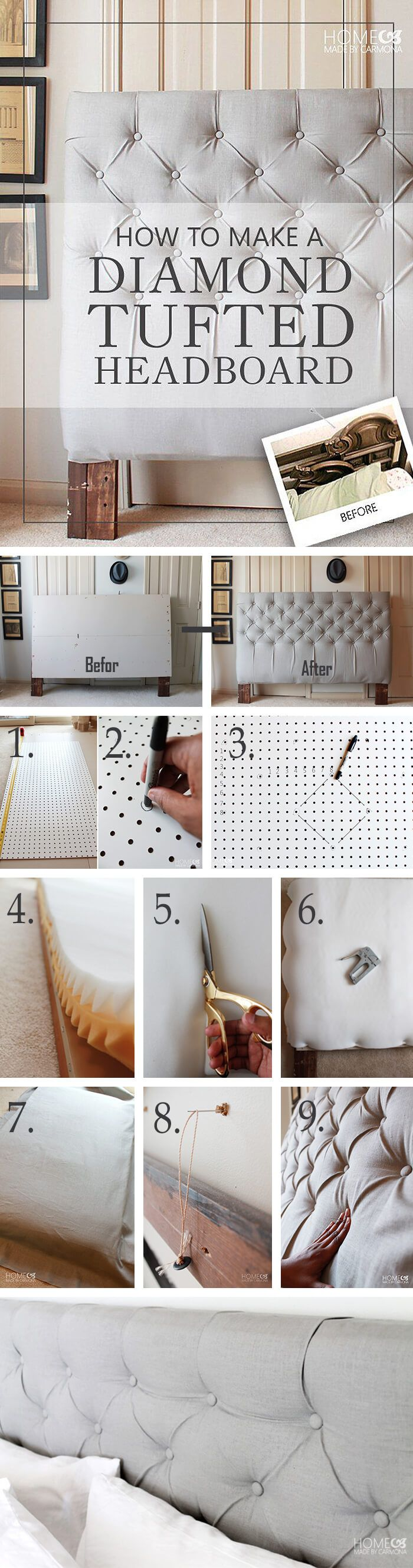 Diy bedroom headboard ideas  of the best ways to use diy headboards to create the room of your