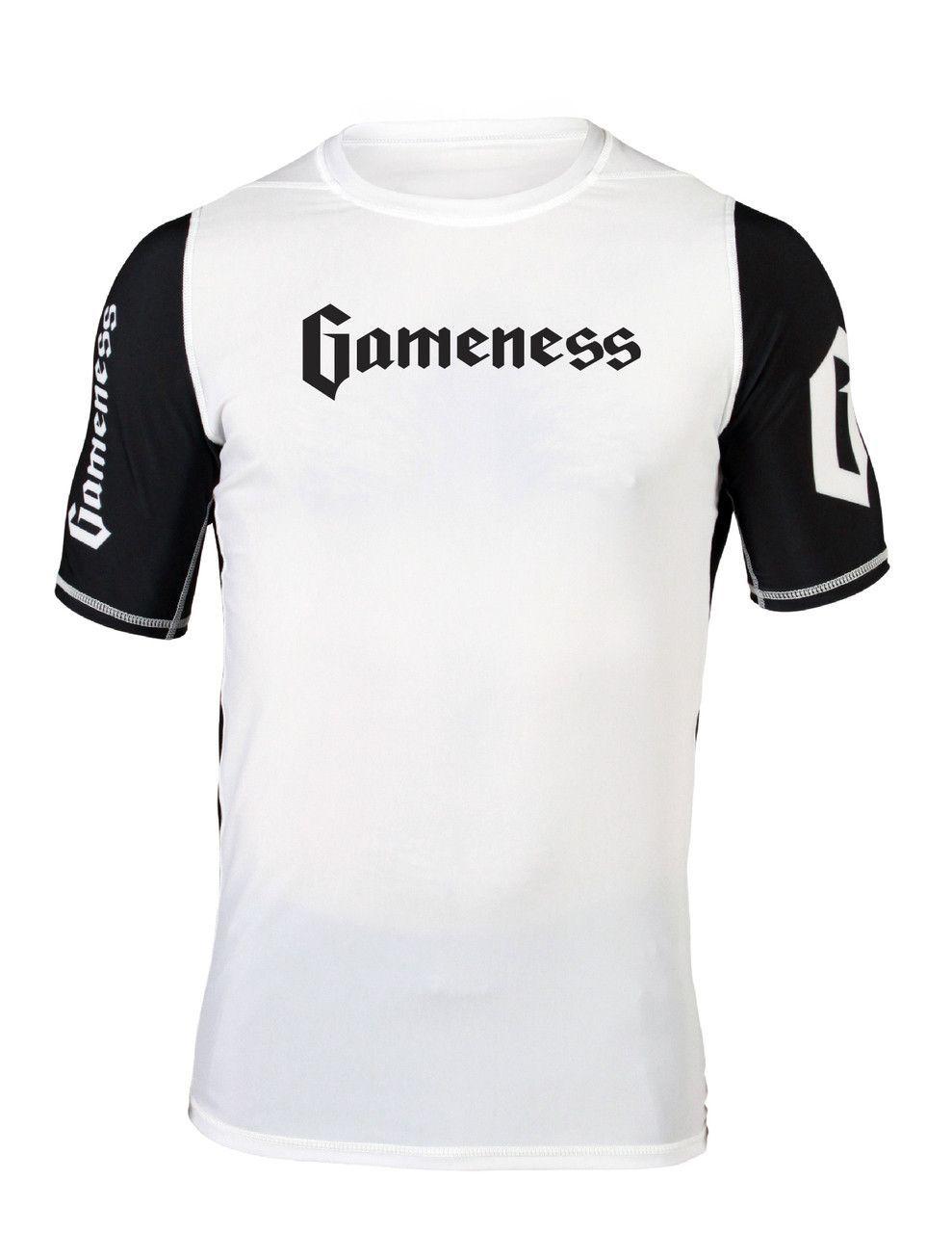 Gameness Logo Rash Guard (Youth)